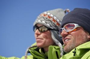 Sonnenbrillen Schnee Ski Winter